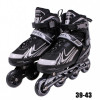 Roller Regulável do 39 Ao 43 In-line Aluminum 500 Abec 9 Cinza