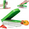 Picador de Cebolas e Vegetais com Recipiente e Tampa Onion Chopper